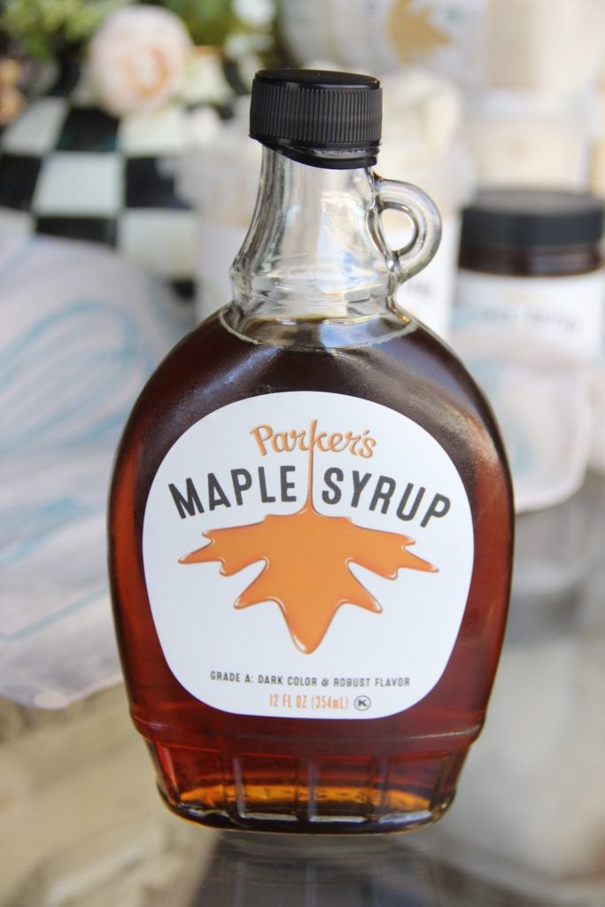 Parker's Maple Syrup reviewed by Skinny Girl Standard.