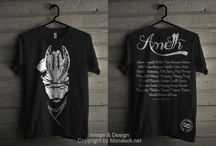 Ameth Tshirt by Mondeck Maluku www.mondeck.net