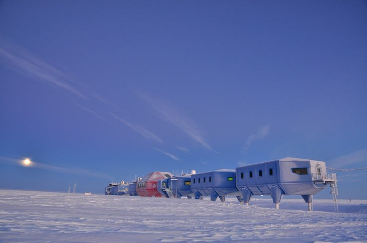 Photography James Morris, Anthony Dubber and Sam Burrell Contractor: Galliford Try Halley VI Antarctic Research Station – the world's first re-locatable ...