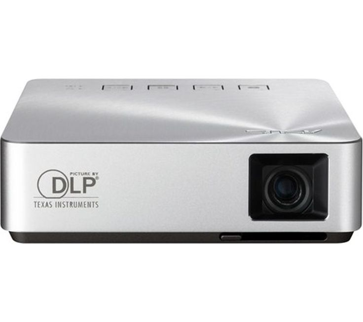 "Buy ASUS  S1 Portable Projector Price: £279.99 Top features:- Large, clear display provides 41"" display at just one metre - Ultra-portable with three hours battery life Consider the highly capable Asus S1 Portable Projector for quality imaging on the go, idea for use in the office or your home cinema.Large, clear displayThis 200 lumen, short-throw projector gives a 41"" diagonal display at..."