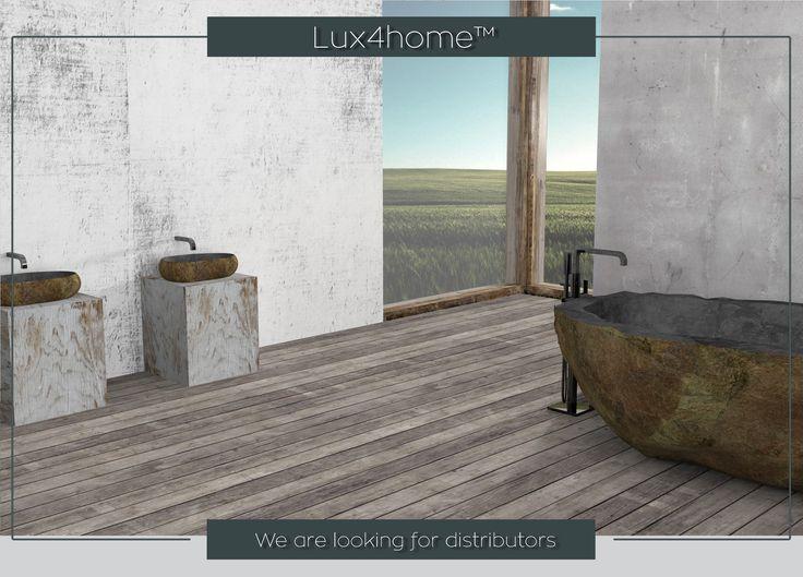 Stone bathtub manufacturer - Stone bathtubs producer Natural #Stone #Sinks & Natural stone #bathtubs from #Indonesia... Distributors & importers wanted...