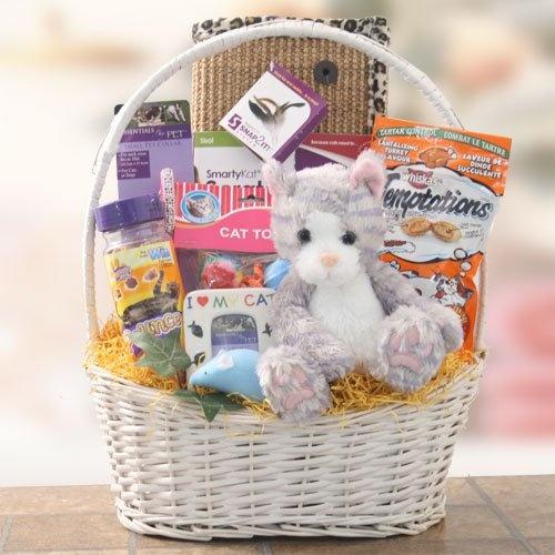 38 best pet gift baskets images on pinterest dog gift baskets cat got your tongue pet gift basket cat lover gift idea negle Images