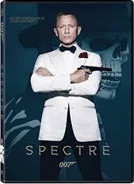 Resultado de imagen de spectre dvd cover