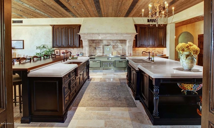 73 Best Million Dollar Kitchens Images On Pinterest
