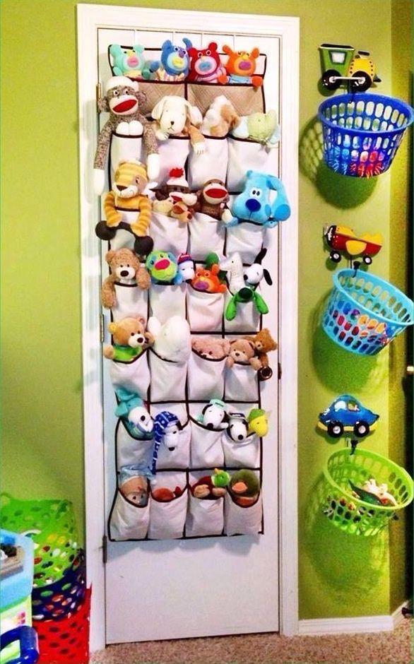 M s de 1000 ideas sobre organizaci n de zapatos de los - Ideas almacenaje juguetes ...