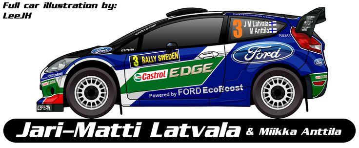 WRC | FORD | #3 | Jari-Matti Latvala - Miikka Anttila ( 1-4, 6-13 )