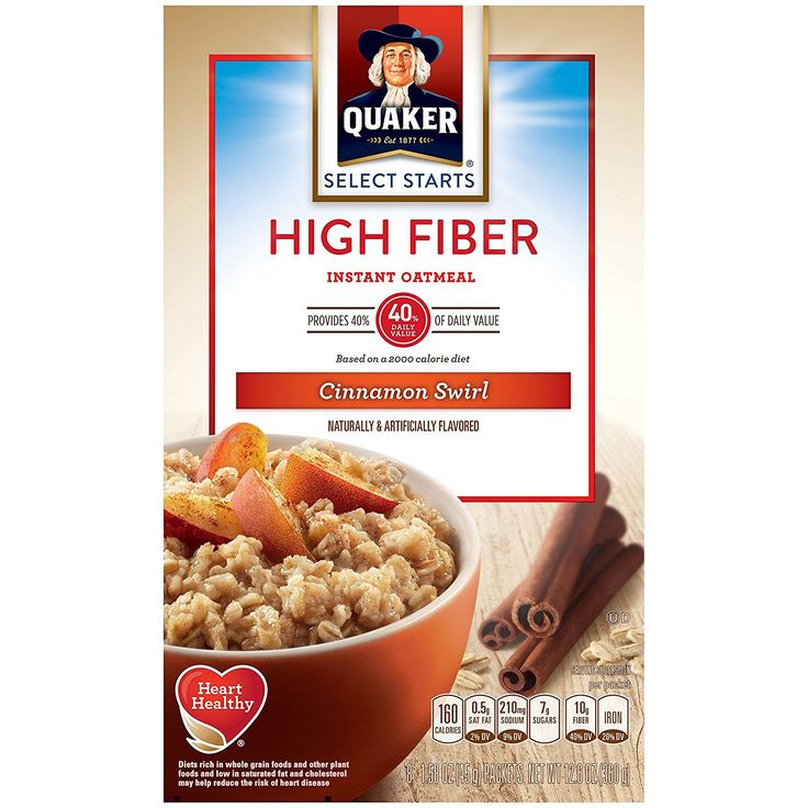 Quaker Instant Oatmeal. #8PacketsPerBoxPackOf4, #BreakfastCereal, #CinnamonSwirl, #HighFiber, #QuakerInstantOatmeal, #QuakerOatmeal #LowCarbDiet    Read the rest of this entry » http://lowcarbbreakfastideas.com/quaker-instant-oatmeal-2/