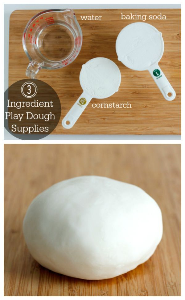 How to Make 3 Ingredient Play Dough, Super Simple & ready in minutes!