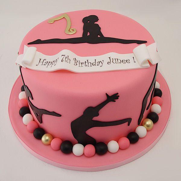 Gymnastics Cake For Eight