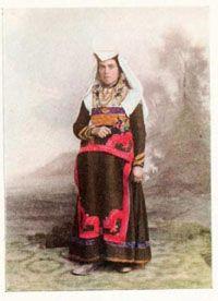 Molise folk costume Molisani contadini