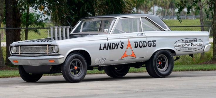 The first Funny Car – Dick Landy's Dodge Hemi Coronet heads to auction in Florida