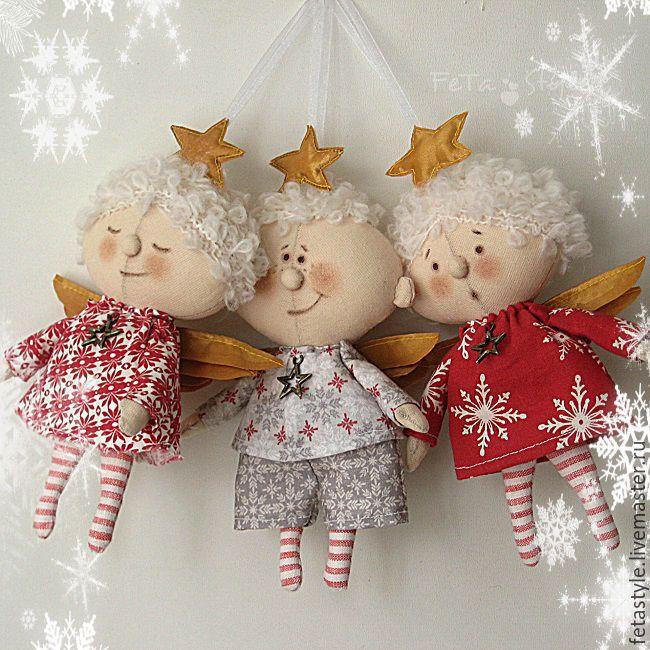 Купить Ангел на Елку Рождественская звездочка - ангел, ангелочек, ангел на елку…