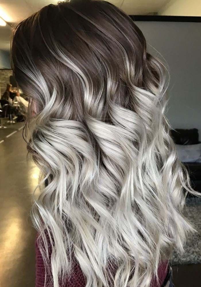 Light And Dark Brown Ombre Hair Color Ideas In 2019 ...