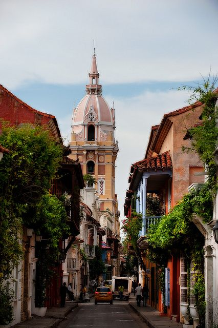 The old city of Cartagena, Colombia