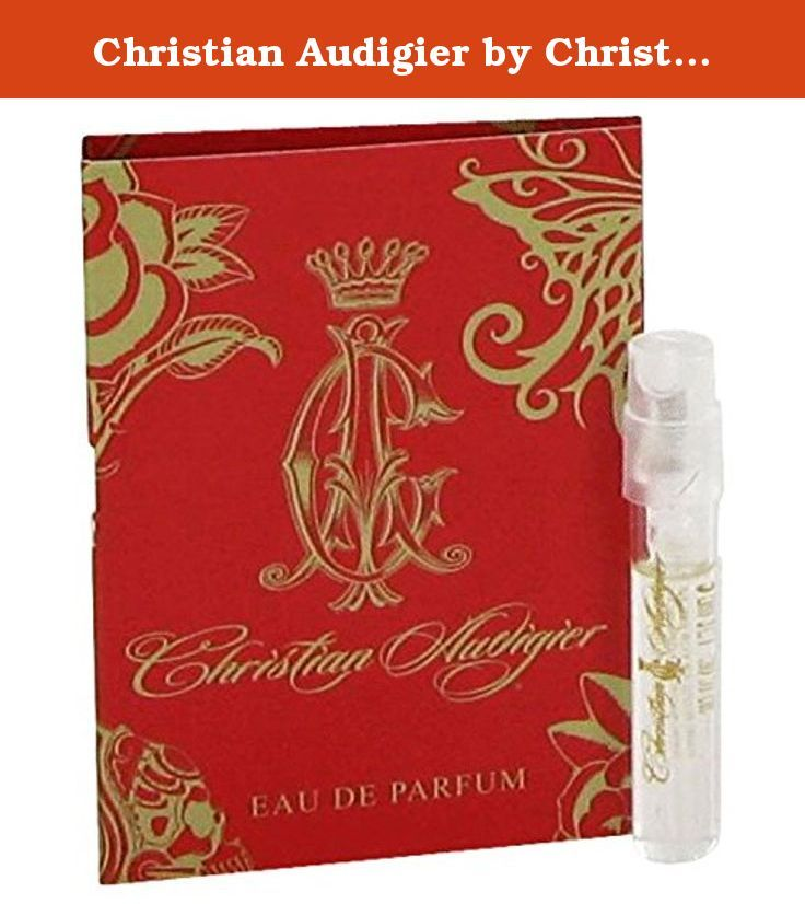 Christian Audigier by Christian Audigier Women's Vial (sample) .05 oz - 100% Authentic. Christian Audigier, the cutting edge designer and his wife created this duo of scents.Each spouse chose notes that they believed shed light on their beloveds character. The result for women is a sweet mixture of blackberry, pomegranate and tangerine for top notes, with a heart of coconut, magnolia and orchard. The base notes are Indonesian sandalwood, amber and woods. Each flacon is topped with a gold…