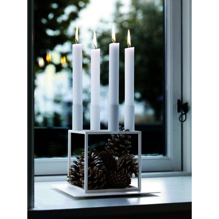 Kubus candle from By:Lassen
