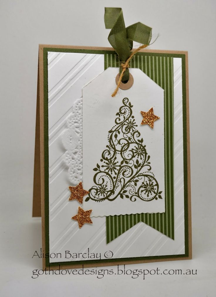 Charming Card Making Ideas Christmas Stampin Up Part - 10: Gothdove Designs - Alison Barclay Stampinu0027 Up! ® Australia