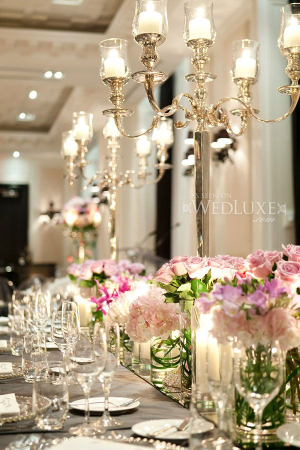 As seen on WedLuxe   Design and Decor Frank Rea, Forget Me Not Flowers, Oakville    Photography by: 5ive15ifteen photo co.