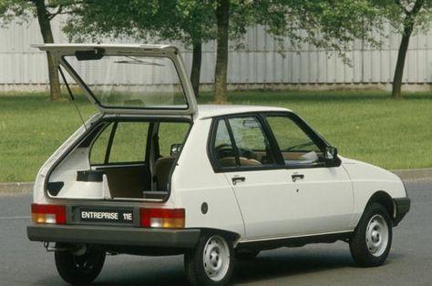 Visa Entreprise, la Visa des professionnels - Tout sur la Citroën Visa - L'Internaute Automobile