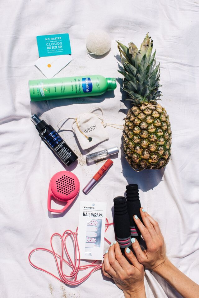 Have you seen the #FabFitFun summer box?It's stuffed with 10 premium, full-size products like Tarte lipsurgence, Konjac facial sponge, Inkling perfume, Gorge leave-in conditioner, and more. Get your box today at vip.fabfitfun.com. Use code PINTEREST10 to get $10 off. Offer valid through 7/15/15. Summer