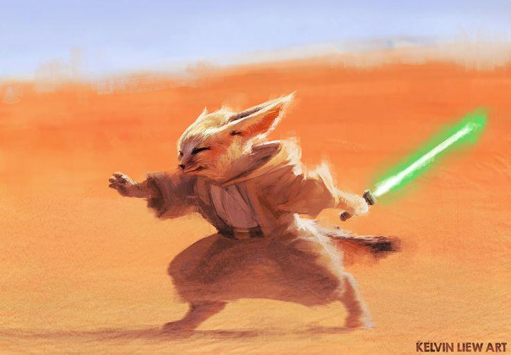 Desert Jedi, Kelvin Liew on ArtStation at https://www.artstation.com/artwork/EN5Pe