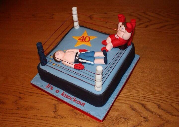 Images Of Boxing Cakes