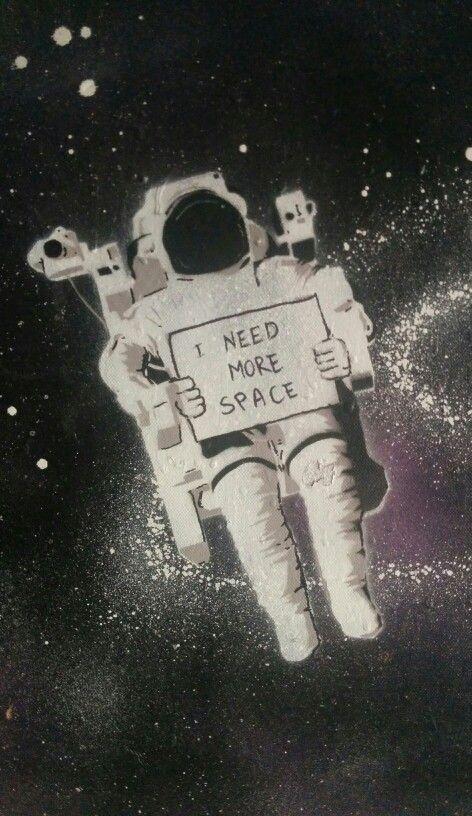 Preciso de espaço