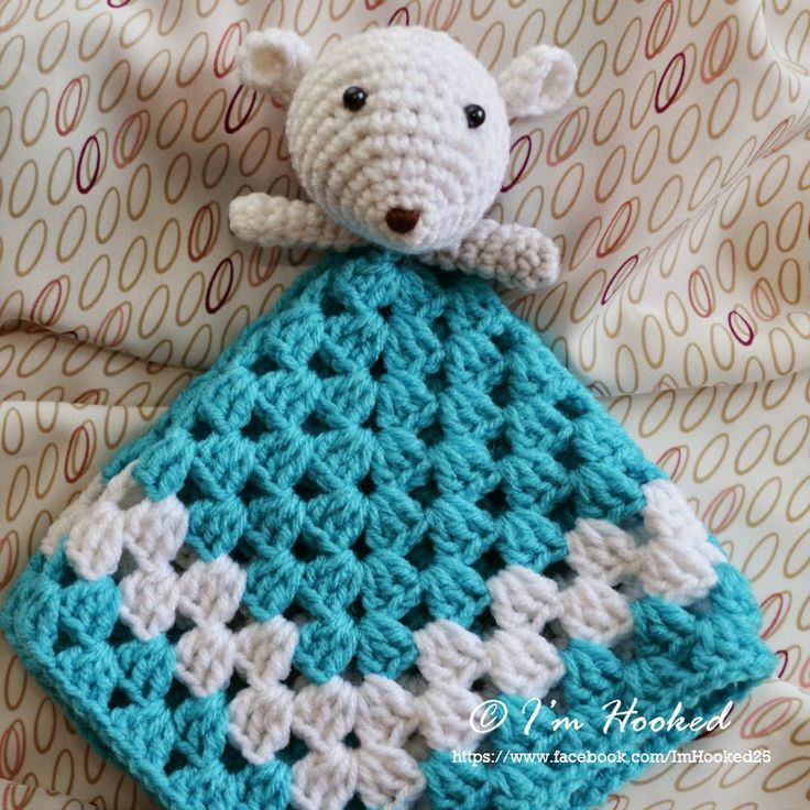 crochet lovey, free pattern Crochet Pinterest
