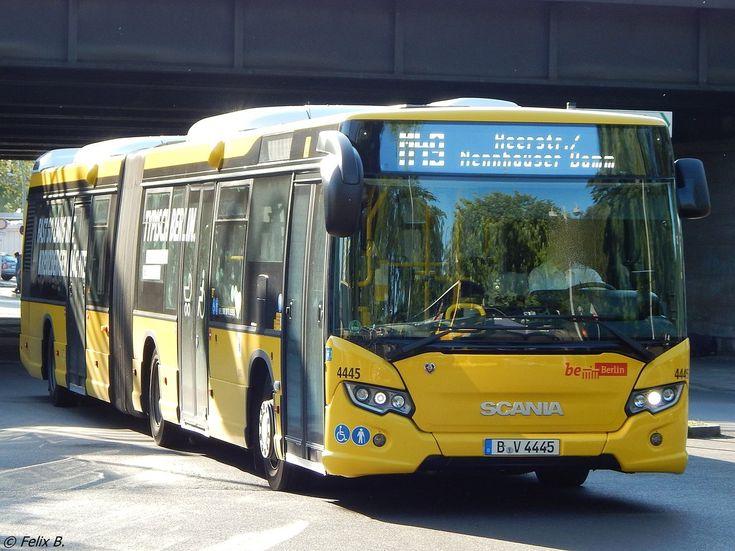 Scania Citywide der BVG in Berlin am 08.06.2016