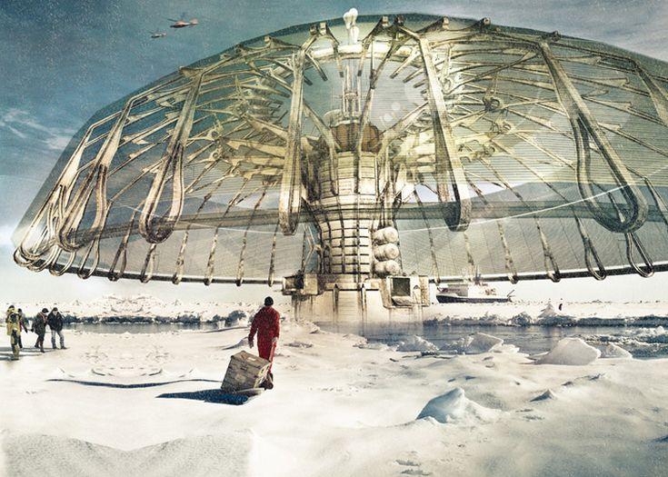 'Polar Umbrella' by Derek Pirozzi