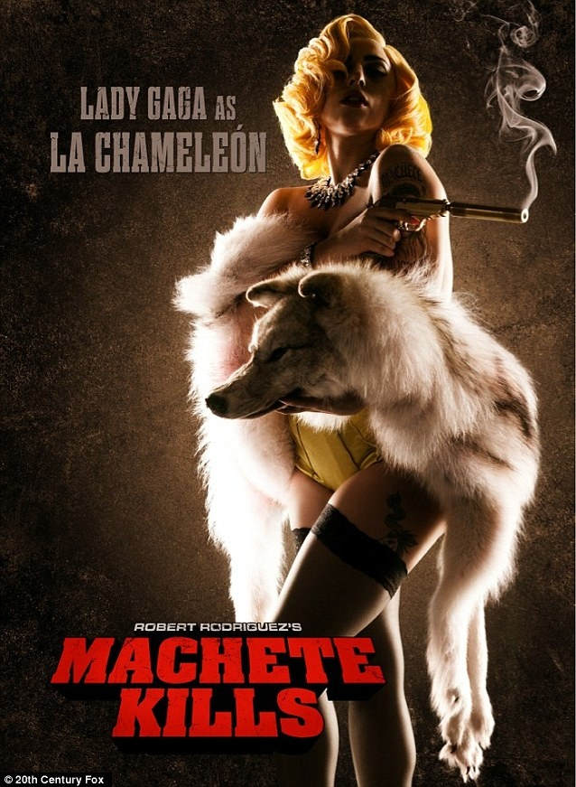 Lady Gaga has been cast in Machete Kills, the sequel to Robert Rodriquez film Machete