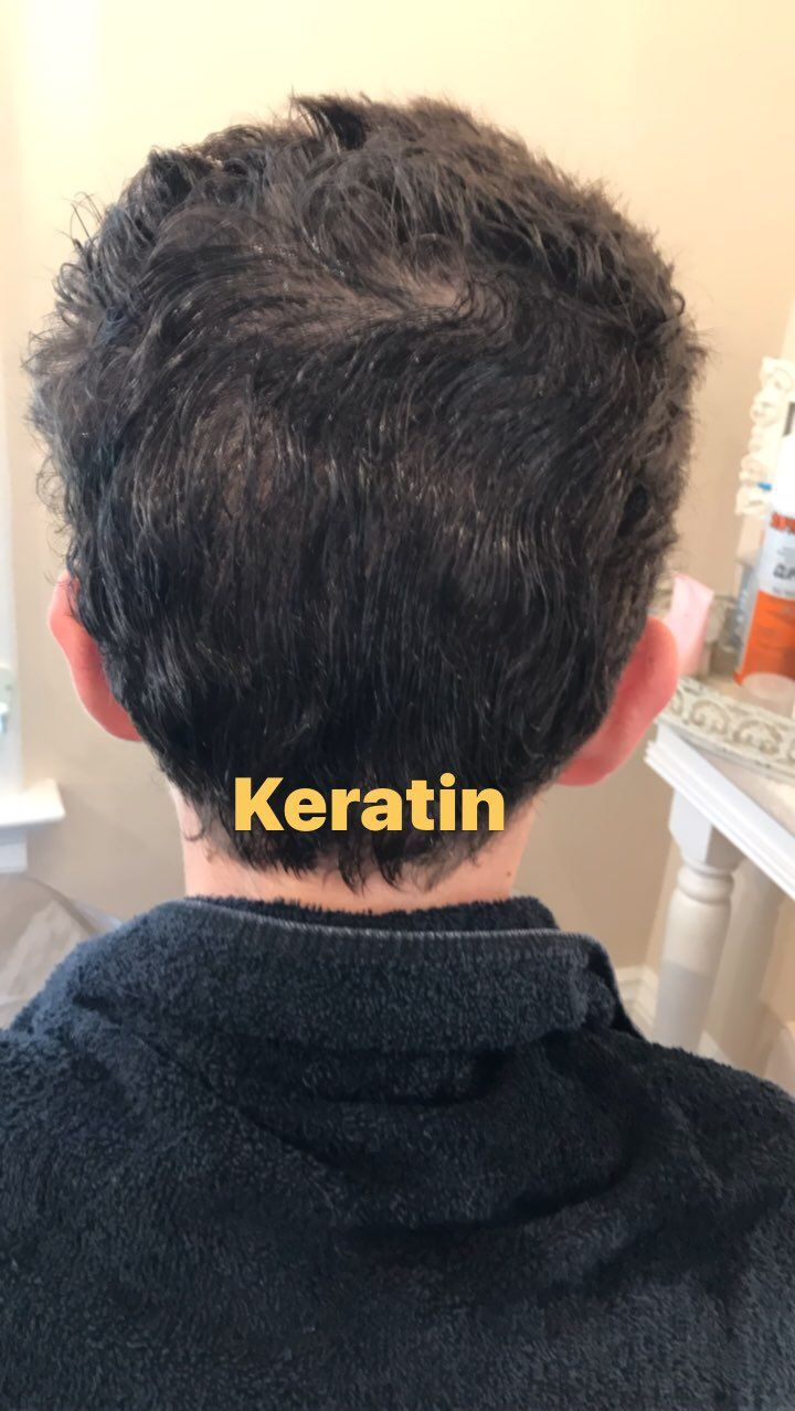 Boys and men's keratin too! They love it