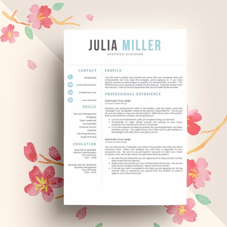Best 25+ Teacher resume template ideas on Pinterest Resumes for - resume template mac