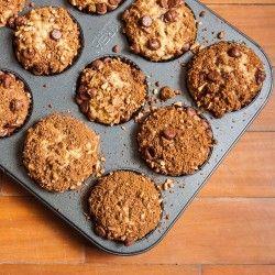 Banana Chocolate Cinnamon Muffins