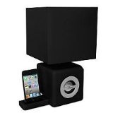 iHome iPad/iPod/iPhone Speaker Dock/LED Ambient Lamp/- Apple iPhone 4S Compatible Black (Electronics)By iHome