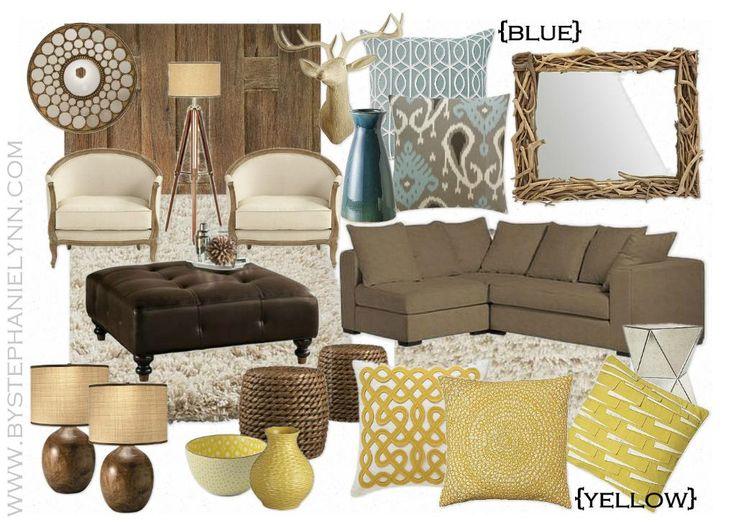 The Good Mood Board {Living Room Edition}