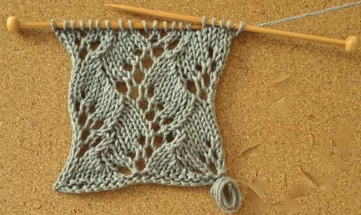 Fern Stitch Swatch  Pattern available here…
