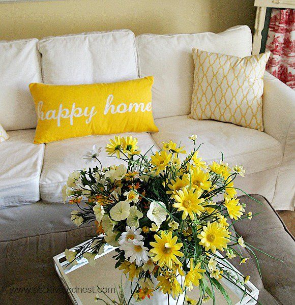 Image Result For Living Room Yellow
