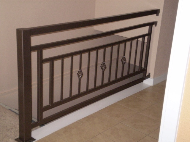 Cool Idea For Second Floor Landing Railing Stair