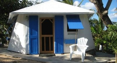 Starfish Cottage, Waterfront Cottage with one bed/one bath, full kitchen.  Gregory Town