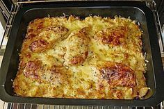 Bratkartoffelauflauf mit Schnitzel 1