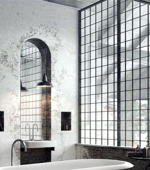 25+ Best Ideas About Industrial Chic Bathrooms On