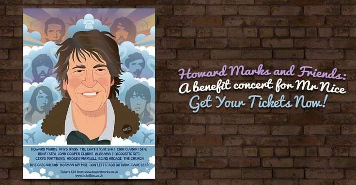 Howard Marks and Friends: A benefit concert for Mr Nice - Visit http://www.cannabis-seeds-store.co.uk/Cannabis-Seeds-News/howard-marks-and-friends-a-benefit-concert-for-mr-nice