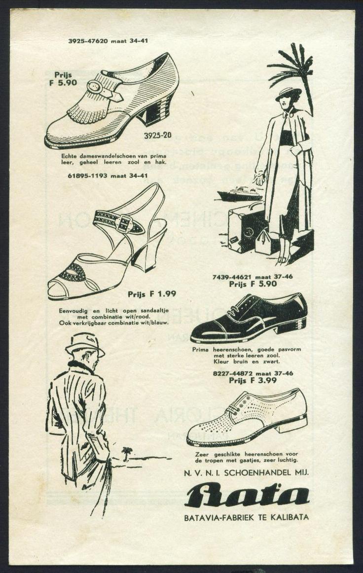 Bata Indonesia Advertising, date unknown #batashoes #120years