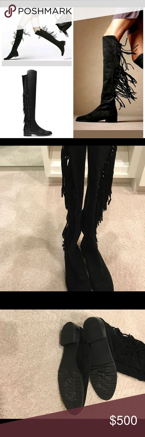 Stuart Weitzman Mane 5050 boot 8M Brand new without box Stuart Weitzman Shoes Over the Knee Boots
