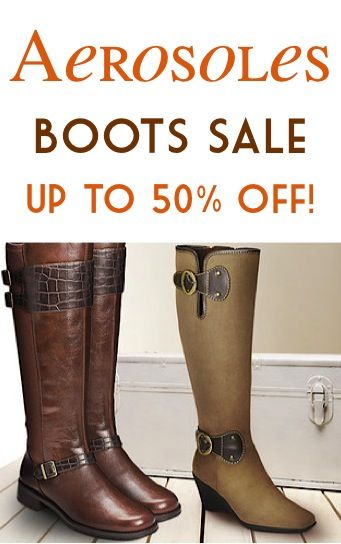 Aerosoles Boots Sale ~ up to 50% off! at TheFrugalGirls.com #boots #fall boot #boot crush