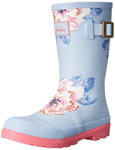 Joules JNR Girls Welly Rain Boot (Toddler/Little Kid/Big Kid), Sky Blue Floral, 9 M US Toddler Joules http://www.amazon.com/dp/B0154A6FHW/ref=cm_sw_r_pi_dp_Q.35wb0XKY4VH