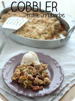 http://cuisinevegetalienne.fr/2017/05/27/cobbler-fraise-rhubarbe/