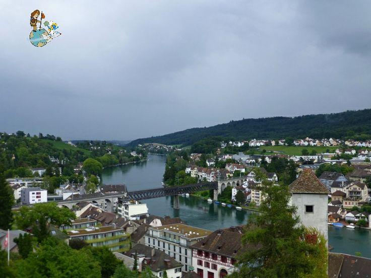 Views of Schaffhausen from Munot (Switzerland)
