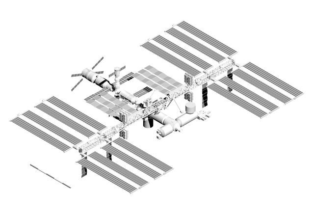 Architect David Nixon's book International Space Station: Architecture Beyond Earth details the architectural history of the ISS